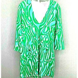Lily Pulitzer Dress Ponte Knit Shift Women M NWOT